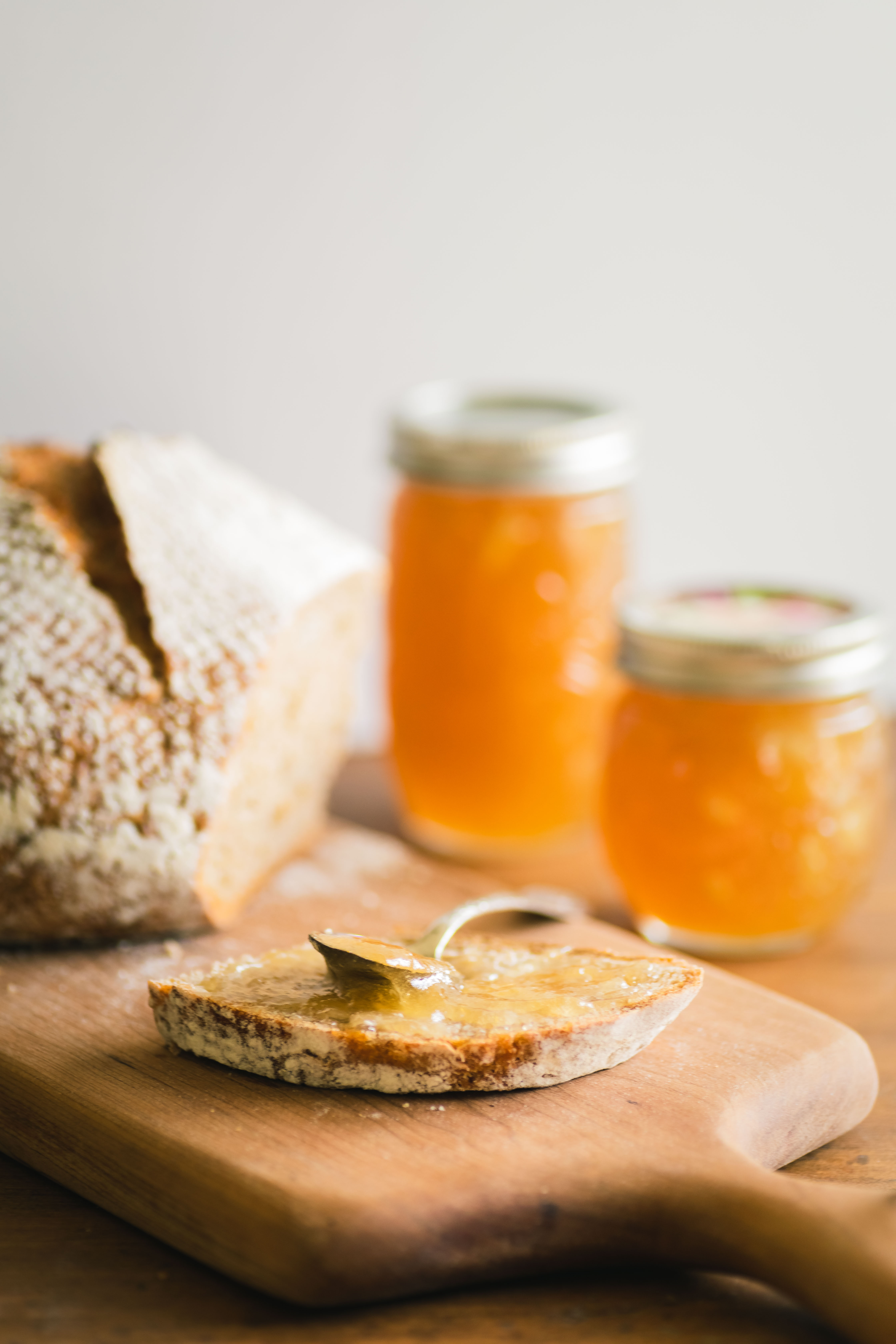 Pear Ginger Jam with Fresh Ginger